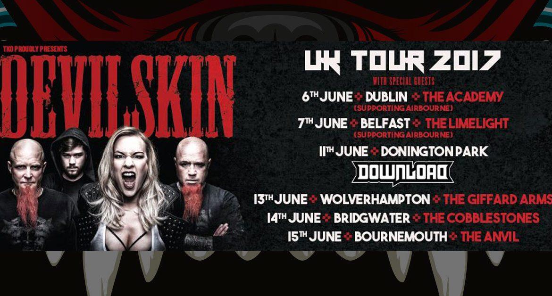 Favori Devilskin Download Festival + UK/IRE Shows - Stampede Press  EZ96