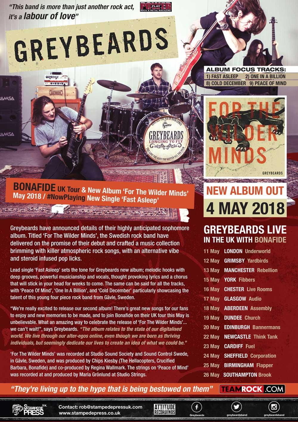 Greybeards_For-The-Wilder-Minds_Stampede-Press_One-Sheet